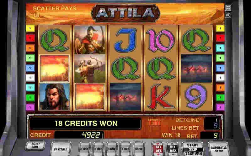 Играть в Attila!