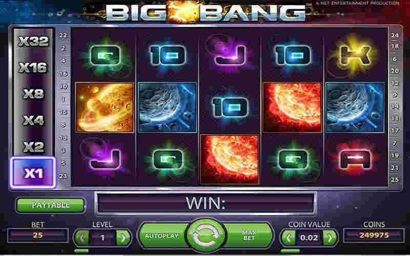Играть в Big Bang!