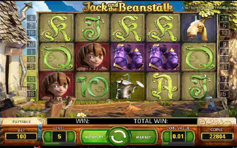 Играть в Jack and the Beanstalk!