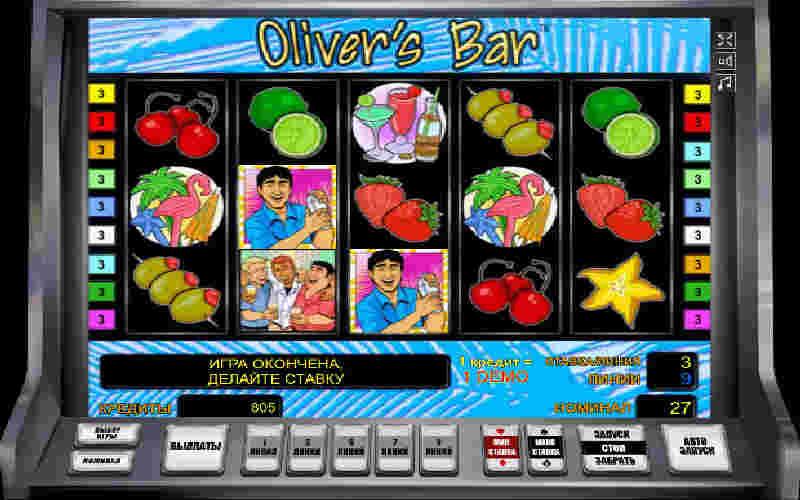 Играть в Olivers Bar!