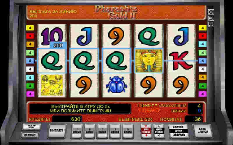 Играть в Pharaoh's Gold II!
