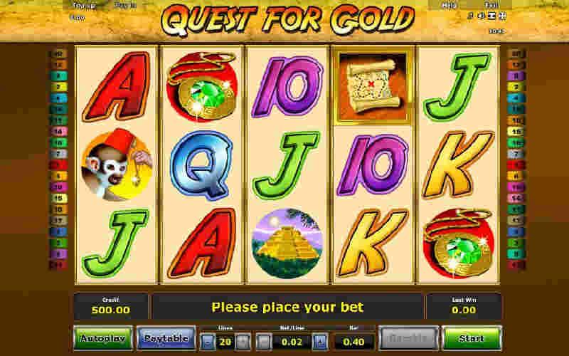 Играть в Quest for Gold!