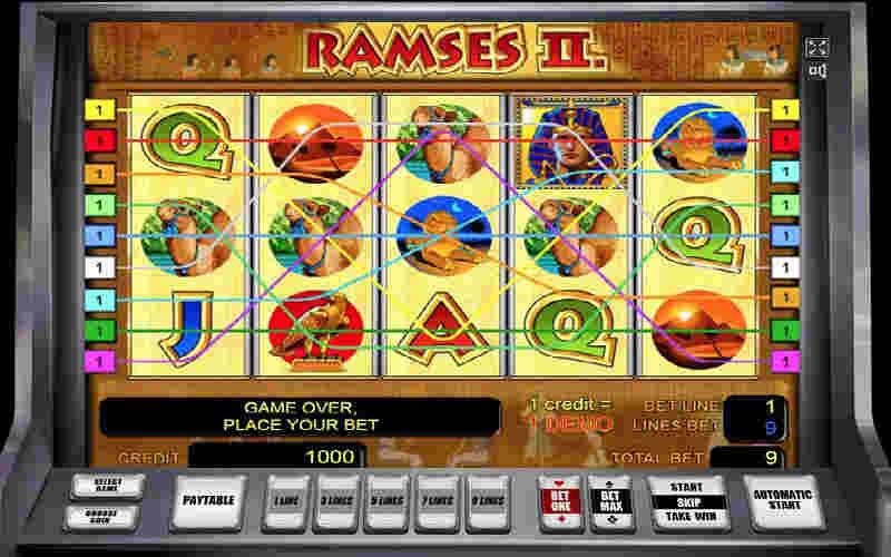 Играть в Ramses II!