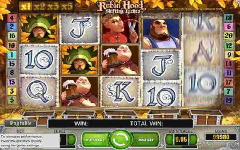 Играть в Robin Hood!