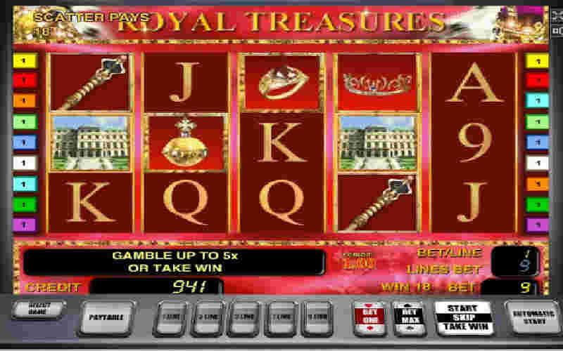 Играть в Royal Treasures!