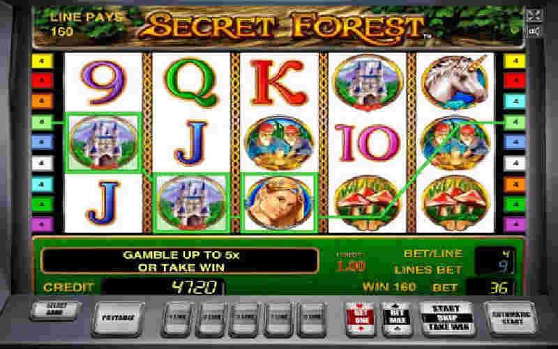 Играть в Secret Forest!